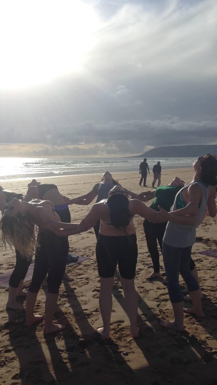 Yoga mergvakariui